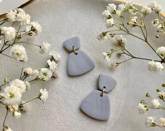BRITTA Dainty Earrings / Polymer Clay Earrings / Modern, Minimal Earrings / Small Earrings / Unique Gift / Girlfriend Gift / Bridesmaid Gift