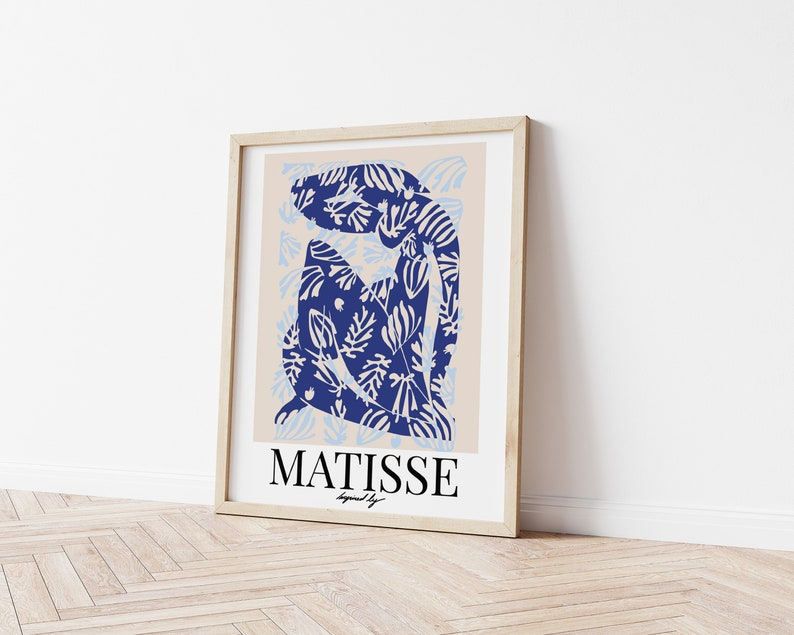 Matisse Exhibition Poster Nude Poster Terracotta Boho