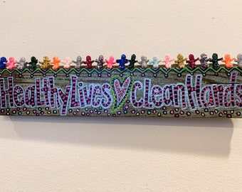 healthy lives love clean hands