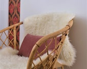 Vintage Boho Wicker Armchair In Stunning Condition