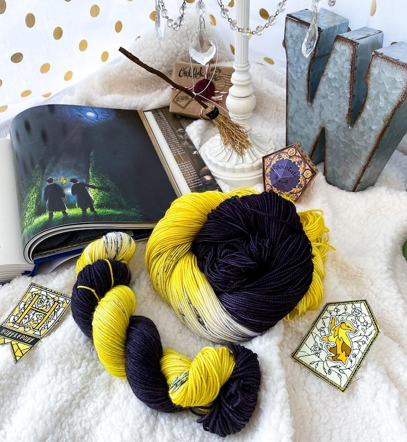 Indie Dyed Yarn Helga