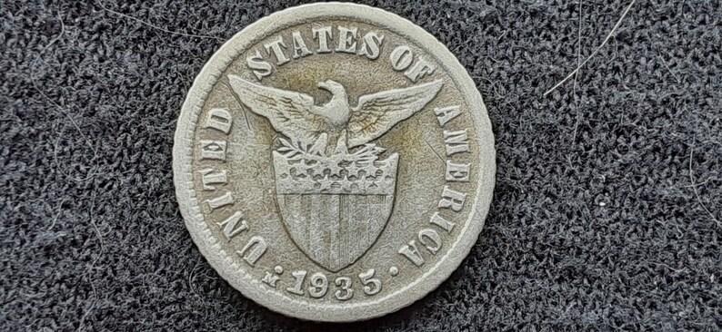 1935m PHILIPPINES 10 Centavos