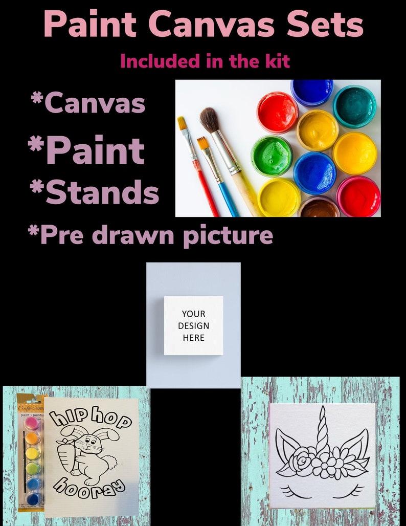 Paint Canvas Kits