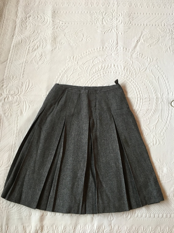 Vintage 1960s Best & Co. Fifth Ave New York Grey W
