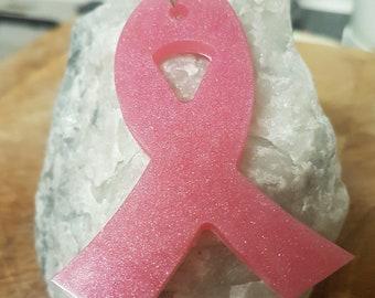 137 Eye chips Pink Shimmering