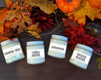 Fall Season Scents Candle Bundle (4pk)
