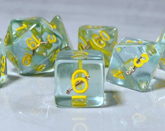 Bless Dice, Cleric Dice, Encounter Dice, Dnd Class Themed Dice, Polyhedral Dice for RPG and Pathfinder