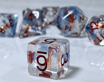 Bardic Inspiration Dice, Bard Dice Encounter Dice, Dnd Class Themed Dice, Polyhedral Dice for RPG and Pathfinder