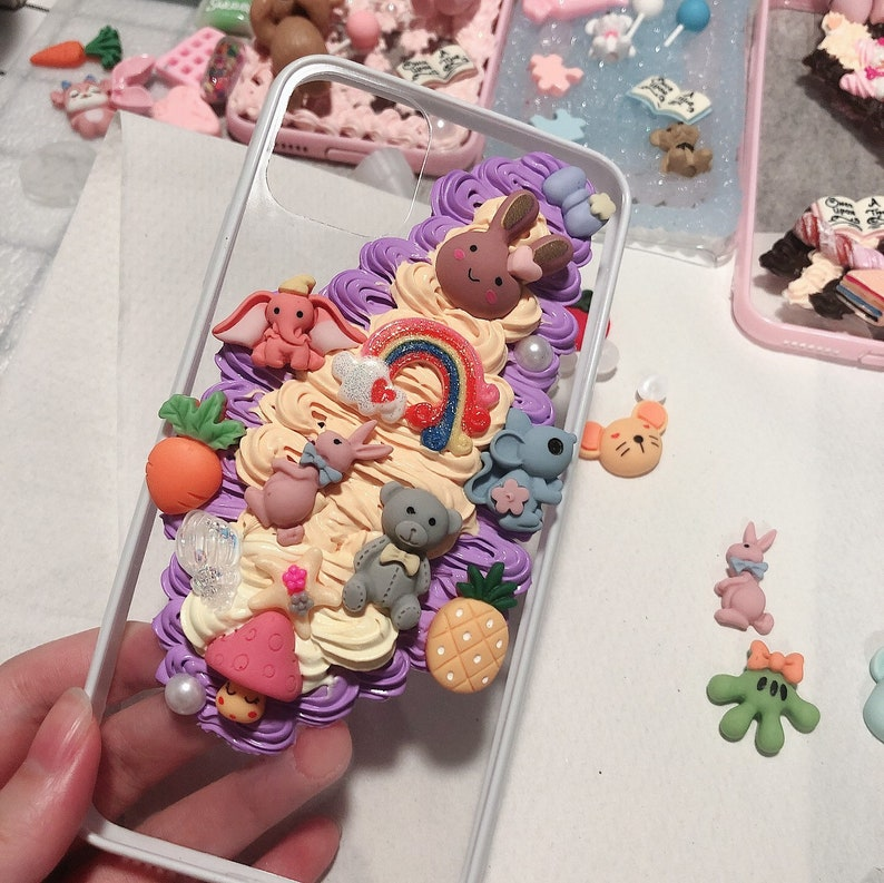 whipped cream stress ball personalized gift phone case iPhone 12 animal phone case 21st birthday gift decoden phone case ice cream