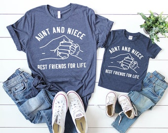 Aunt Niece Shirt, Auntie Gift, Auntie shirt, Aunt Niece Tee, Shirt for Aunt, New Aunt Shirt, New Aunt Gift, Aunt And Niece Life Shirt