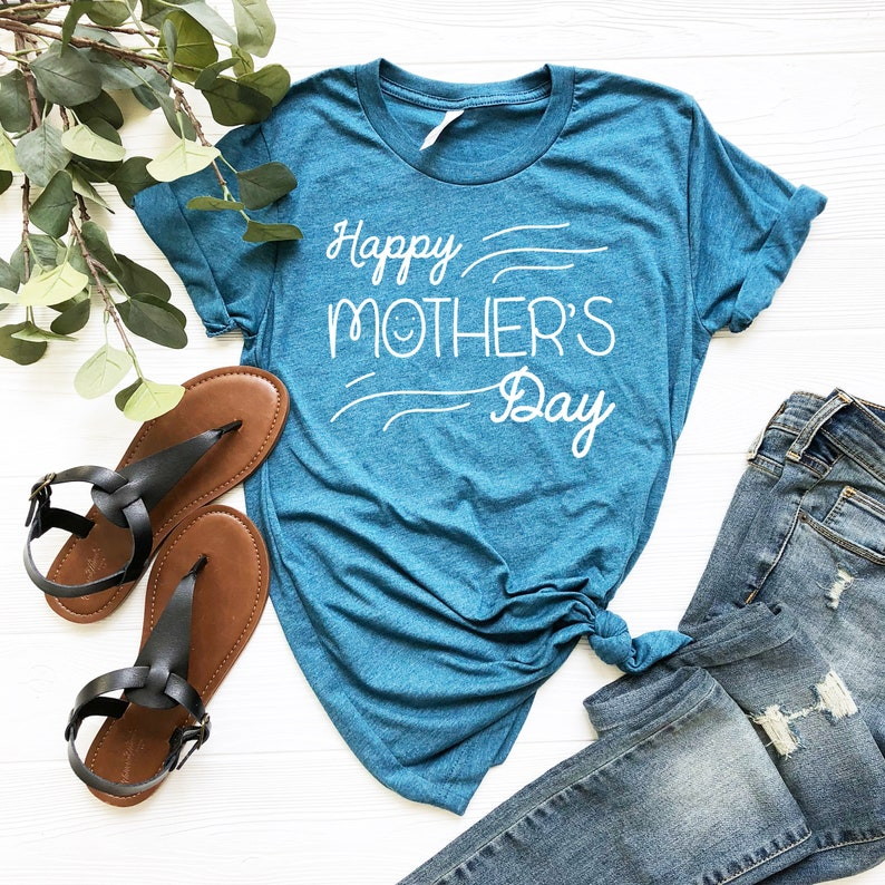 Gift For Mom Mom T Shirt Shirt For Mother,Mother/'s Day Gift Mother/'s Day Shirt T Shirt For Mom Happy Mother/'s Day T Shirt