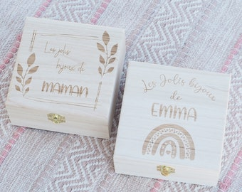 Personalised jewelry box for mom, grandma, godmother ... Ideal Mother's Day gift - Grandmother's Day