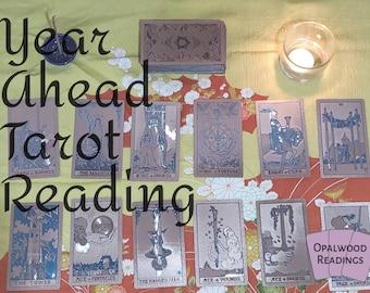 Year Ahead Tarot Next 12 Months Reading