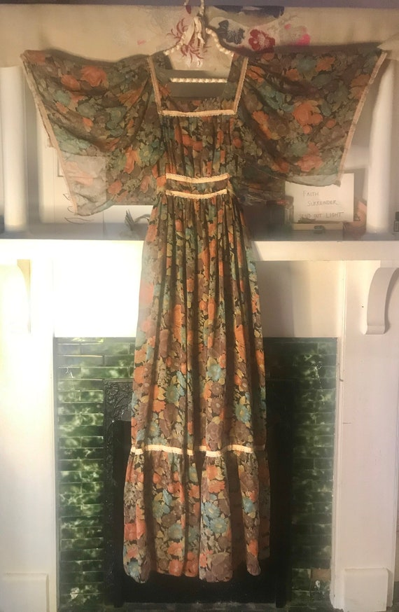 Vintage Candi Jones California dress