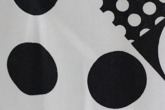 60s Atomic Age Mod Babydoll Dress - image 8