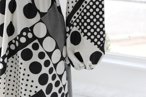 60s Atomic Age Mod Babydoll Dress - image 6