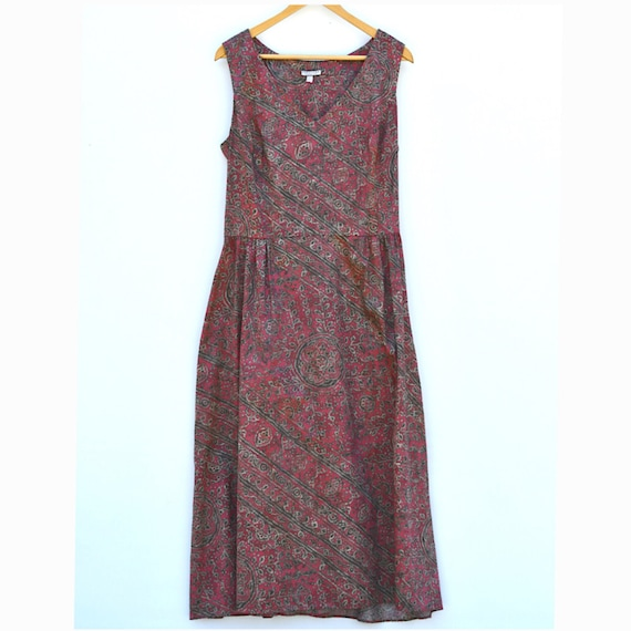 Sleeveless 100% Cotton Dress (Peruvian Connection)