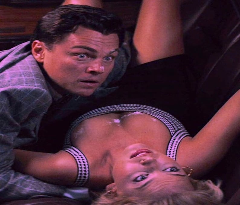 Wolf Of Wall Street Mouse Pad Wolf Blow Mouse Pad \u2014 Leonardo DiCaprio Wolf Of Wall Street Margot Robbie Mouse Pad