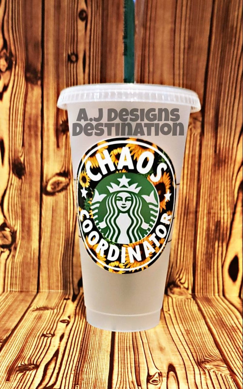 Starbucks Reusable Venti Cold Cup Hot Mess Mama Cup Chaos Coordinator Cup Mama Starbucks Cup Mommy/'s Fuel Cup