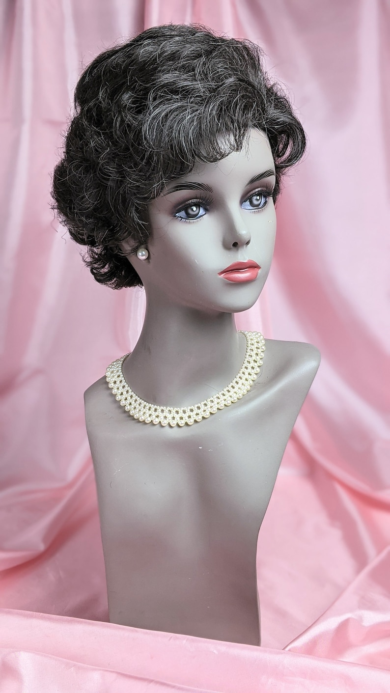 Create Easy Vintage Hairstyles Vintage Synthetic Fiber Short Curly Hair Style