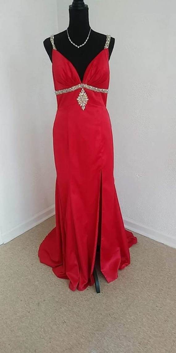 Red formal/party gown