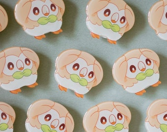Stressed Out Rowlet Acrylic Phone Attachment