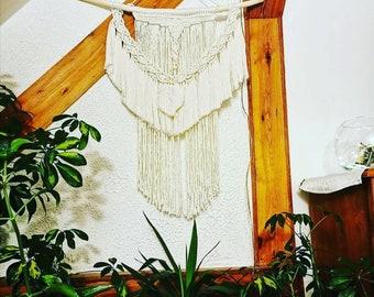 Large macrame wall hanging, decor home, boho rustic style, bohemian wall art,wall art, modern macrame, housewarming gift, boho macrame decor