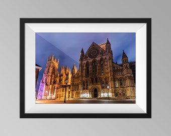 York Minster Cathedral - Yorkshire Landscape Photography, Fine Art, Church Wall Art, Architecture