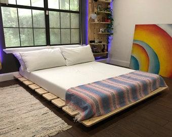 The Platform - Oversized Wooden Bed Frame