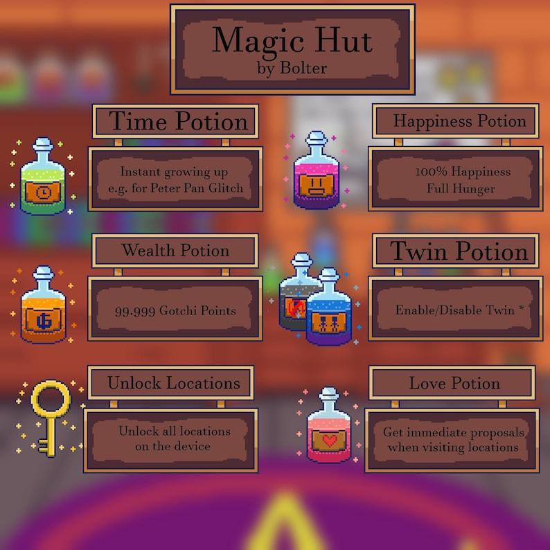 Magic Hut  Tamagotchi Meets / ON Download image 0