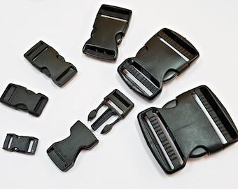 2 x plug-in buckle 10 15 20 25 30 40 50 mm