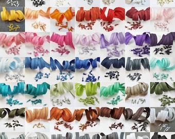 5m endless zipper 3mm spiral + 15 zipper (nonlock) / various colors