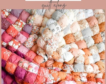 Fabric Bundle, Ombre Puff Quilt, Ombrebow, Art Gallery Fabrics, 100% cotton, fat quarter, fat quarter Bundle, pink fabric, blue fabric,