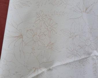 Fabric, Art Gallery Fabrics, Natural Bouquet, 100% cotton fabric, Yardage, Fat Quarter, cream fabric, Soften the Volume Collection