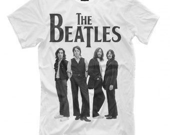 Men/'s Women/'s All Sizes High Quality Tee The Beatles Members T-Shirt