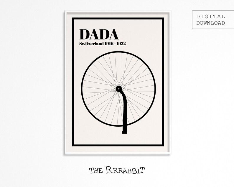 DADAISM ART Printable Poster  Art Movement Poster  Printable image 0