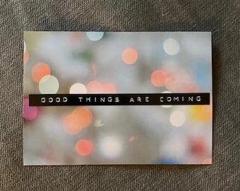 Good Things Are Coming - Analog x Zeazi