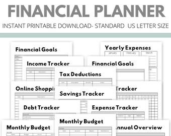 Financial Planner | Black & White