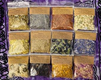180+ Choices | Herbal Starter Kit | Herb Kit | Witchcraft Starter Kit | Starter Kit | Wicca | Hoodoo | Conjure | Rootworkers | Witchcraft