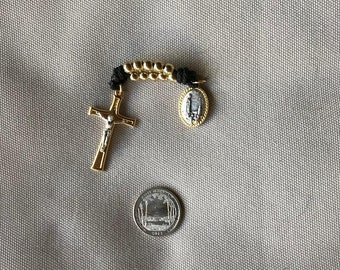 Unique double-stranded rosary chaplet!