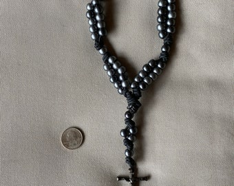 Unique double-stranded rosary.