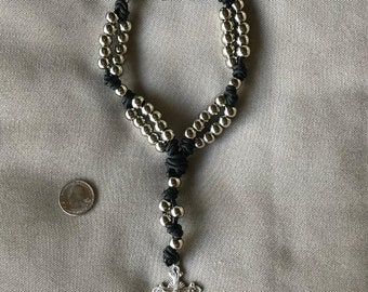 Unique double-stranded rosary!