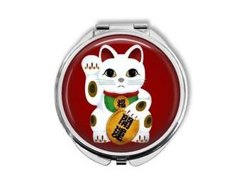 Pirate Kitty Cat Sweet Pocket Mirror tartx