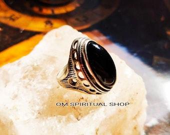 Soul Transformation spell DJINN SPIRIT satanic demon ring Vampire Leader Ring