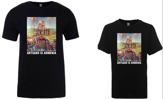 ARTSAKH IS ARMENIA - T-shirt