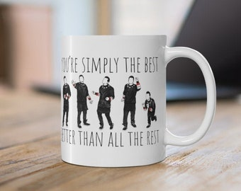 You're Simply the Best: David Dancing- Mug 11oz