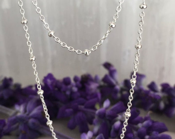 Sterling Silver Chains .925