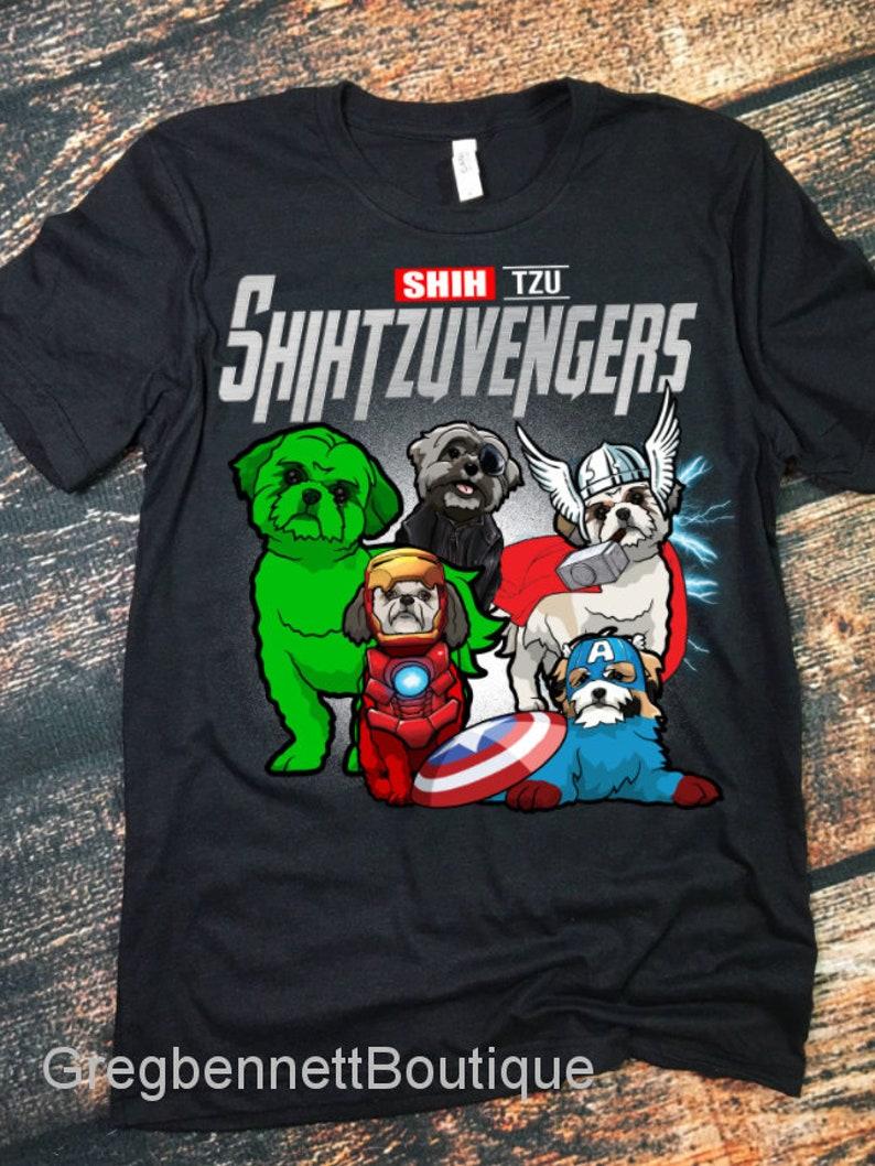 shihtzu lovers shirt for dog mom Shihtzuvengers shirt shihtzu/'s mom