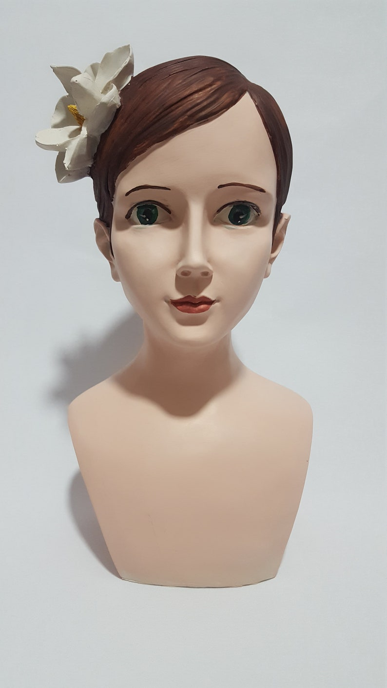 Large Handmade Decorative Statue, Woman Sculpture Statue for Decor Statues Sculptures Beautiful woman breast statue Statue Bust