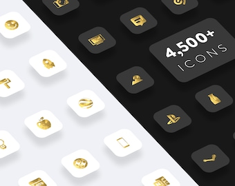 Gold Leaf - iOS 14 Icons for iPhone & iPad